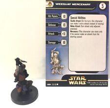 Star Wars Clone Strike 58/60 Weequay Mercenary (C) Miniature