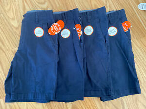 Wonder Nation Boys School Uniform Shorts Lot of Four Size 10