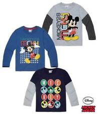 Mickey Mouse Long Sleeve T-Shirts & Tops (2-16 Years) for Boys