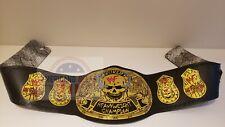 WWF Stone Cold Smoking Skull ATTITUDE ERA World Heavyweight Championship Belt