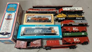 HO engine lot rivarossi life like tyco freight cars