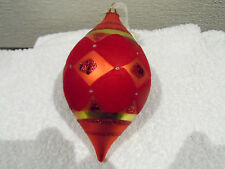 Bombay Co. Vintage Blown Glass Christmas Tree Ornament