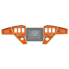 Dash Panel Plate ORANGE MADNESS for NEW Polaris GPS Display 2015 RZR 900 XC 6pc