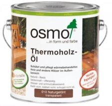 Osmo Thermoholz Öl 010 Naturgetönt 2,5 L Transparent