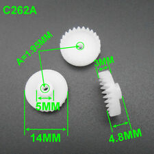 0.5M 26T Plastic Crown Reduction Gear 0.5 Modulus 26 Teeth A= 2mm 1.95mm 14MM 2A
