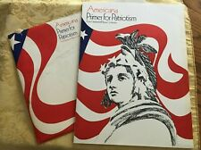 RARE Vintage 1970 Patriotic Americana Primer For Patriotism Hammermill Paper Co.