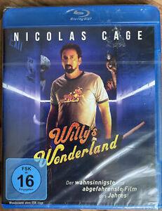 Blu Ray - Willy's Wonderland ( Mit Nicolas Cage) NEU & OVP
