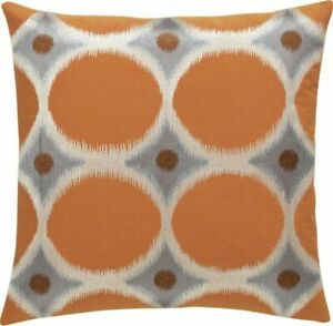 """Crate & and Barrel SURI Embroidered 18"""" PILLOW COVER- NWT NEW"""
