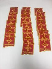 Vtg Large Lot of 25 NOS SEW ON PATCHES 1991 New Mexico Seniors  Olympics