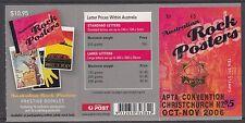 Australia 2006 Australian Rock Posters ($5) O/PT - B306(1)
