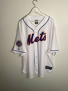 New York Mets Majestic Baseball Jersey Size Mens 4XL