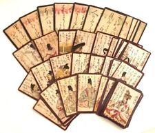Fournier Baraja de cartas japonesa Hyakunin isho uta karuta Siglo XVIII Repro