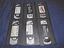 LOT OF 6 CHILDRENS VHS VIDEO TAPES  NO COVERS