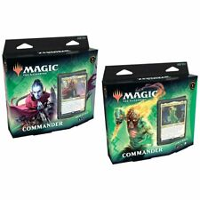 Magic The Gathering MTG Zendikar Rising Commander Decks Set of 2