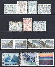 Faroe Islands MNH 1975 SG6-19 Definitive Set, 14 Values