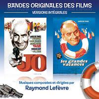LOUIS DE FUNES / RAYMOND LEFEVRE - BOF  JO + LES GRANDES VACANCES - CD