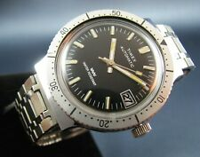 Vintage Timex Automatic Diver Style Mens Watch with Date 1975 Rare Collectible