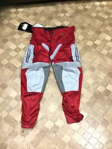 Klim Mojave In The Boot Pants, Red 32 Inch MX Motorcross Enduro Off-road.