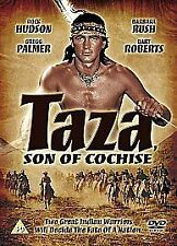 TAZA, SON OF COCHISE-(DVD)-USED-ROCK HUDSON, BARBARA RUSH & JEFF CHANDER