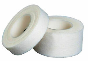 Qualicare Microporous Tape 1.25cm & 2.5cm FirstAid Low Allergy Medical White