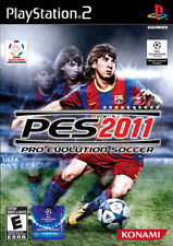 Pro Evolution Soccer 2011 PS2 New Playstation 2