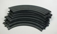 "HO Slot Car Track Parts - Life Like 9"" Curve Track Lot of 8 Pieces - 593201"
