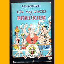LES VACANCES DE BÉRURIER San Antonio Dubout 1969