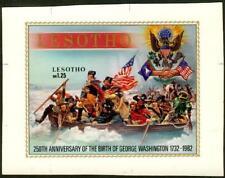 Lesotho 1982 Washington SS MASTER PROOF