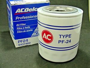 AC Delco PF-24 Engine Oil Filter Buick Chevy Olds Pontiac NOS GM Classic Series