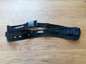 Raidlight Startnummernband Startnummerngürtel schwarz, Neuwertig