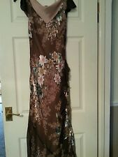 Beautiful Full Length Monsoon Dress Size 10 Packs Small Grt for Holidays/Cruise