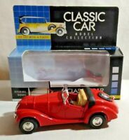 CLASSIC CAR 1:38 DIECAST 1938 SPORTS CONVERTIBLE WITH OPENING DOORS - BOXED