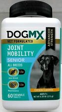 New listing DogMx Joint Mobility Senior Ages 7+ Chicken Flavor 60 Chewable Tablets 04/23 New