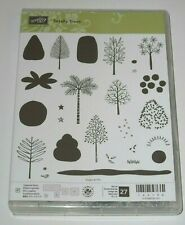 Stampin' Up TOTALLY TREES Photopolymer Stamp Set ~ Cute All-Season Trees & More