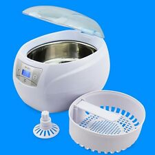 Nettoyeur a ultrasons bijoux dentaires watch verres nettoyage machine à laver 750ml