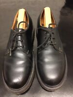 Dr. Martens Smooth Leather Shoes Colour Black Size UK 7 EU 41