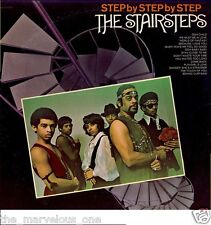 "FIVE STAIRSTEPS & CUBIE""STEP by STEP""~ ""SEALED""~ORIG.U.S. PRESS~BDM-1008~LP!!!"