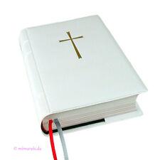 Gotteslobhülle weiß Kreuz Gotteslob Hülle Buchhülle Gebetsbuch Gebetbuchhülle