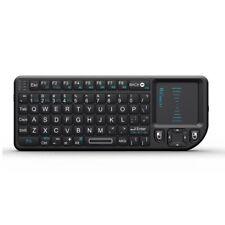 Rii Mini K01X1 2.4GHz Mini Wireless Keyboard with touchpad For Computer Lapto...
