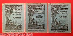 3 x Heft Nr. 8, 9 und Nr. 10 Entdeckungsreisen von Karl Kohlstock  ( F12267