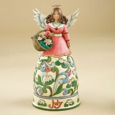 Jim Shore Birthstone & Flower Of The Month Angels-July