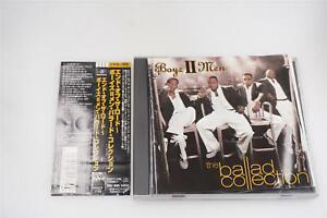 BOYZ II MEN THE BALLAD COLLECTION POCT 1155 JAPAN CD OBI A14146