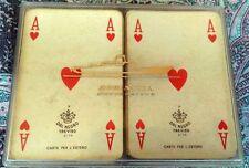 1970 Carte da gioco per l'estero ADRIATICA NAVIGAZIONE 2 mazzi DAL NEGRO