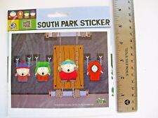 "South Park Kyle Stan Kenny Cartman 5x6"" paper stickers decal Set Of 2 Sealed!"