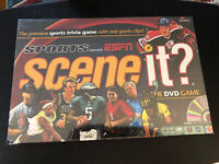 Scene It? Sports Edition powered by ESPN The DVD Game Contents Sealed 2005 NEW!
