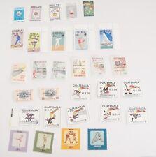 Worldwide Sports Stamps Lot of 30 Mexico Liberia Nicaragua Costa Rica Guatemala