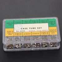 12 Types Mixed Sizes Watch Case Tubes Pipes for Waterproof Crown Part Assortment