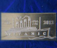 x5 ACB Titanic Limited Edition 2012 Anniversary 1 GRAM 999 SILVER Bars =