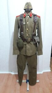 Field uniform of a soldier of the motorized rifle troops of the USSR