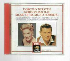 Music of Sigmund Romberg by Dorothy Kirsten & Gordon Macrae CD